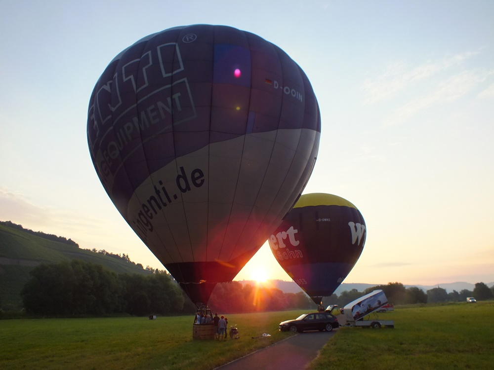 Heißluftballonfahrten Mosel