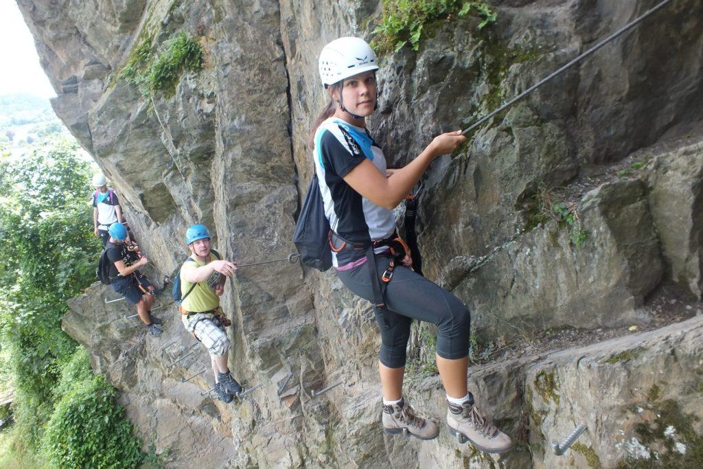 Klettersteig Boppard