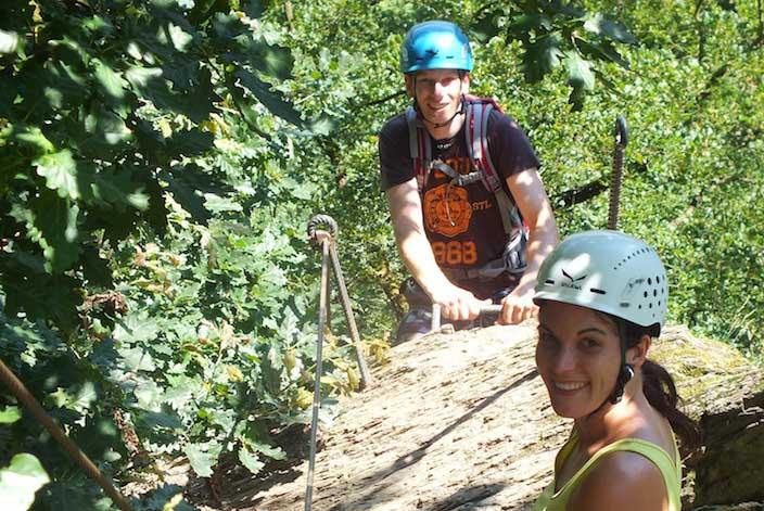 Abenteuer Klettersteig