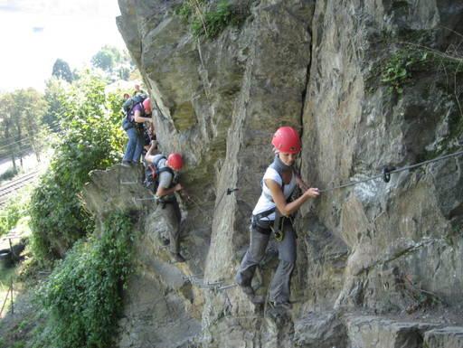 Klettersteig Boppard : Klettersteig boppard abenteuer und aktivurlaub