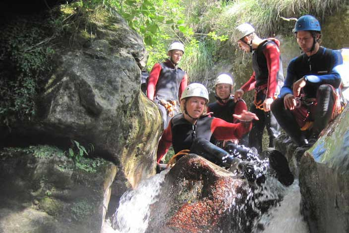 Rafting, Canyoning and more…