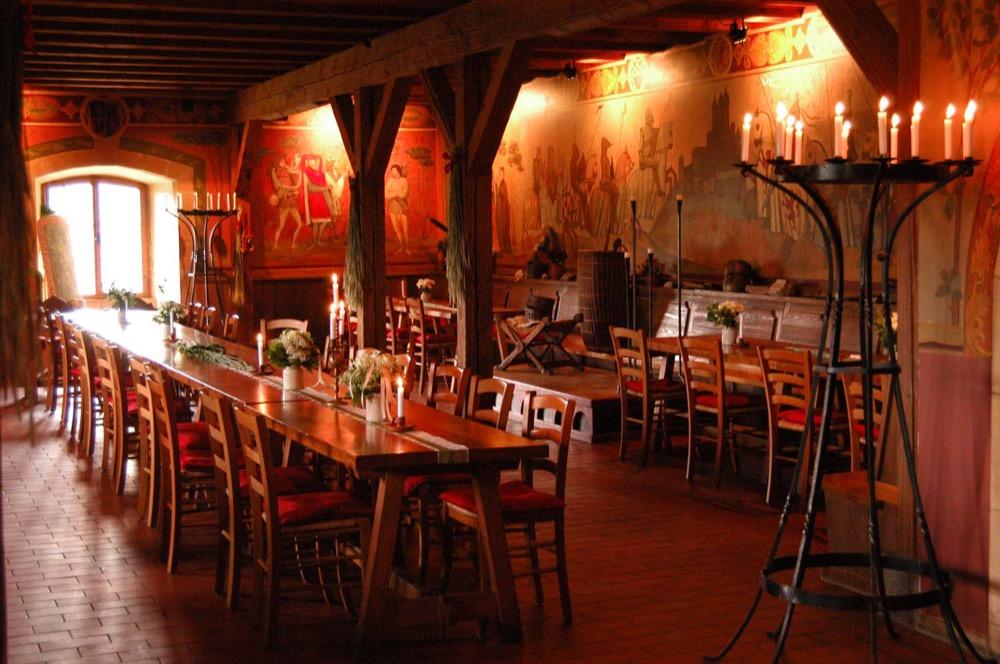 Rittersaal der Burg
