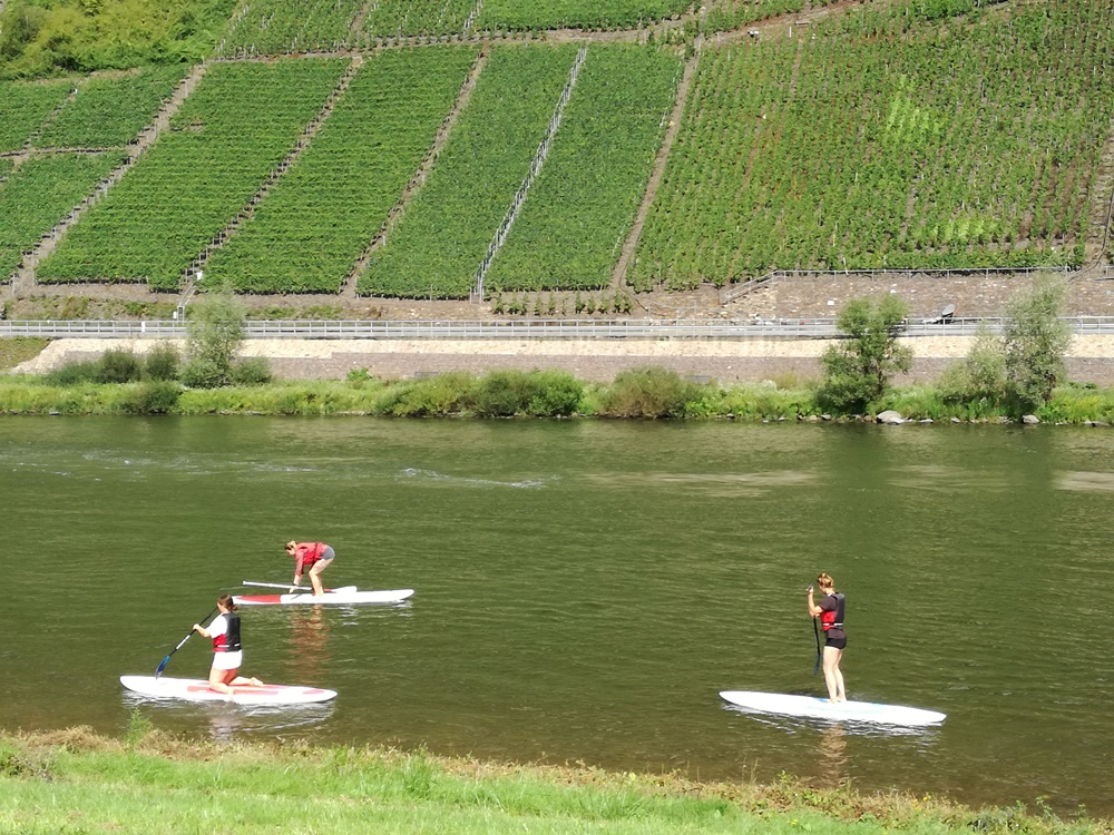 Mosel & Friends Stand Up Paddling