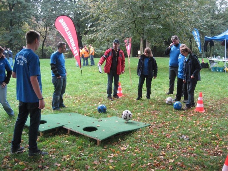 Fussball Fieber als Betriebsausflug Idee