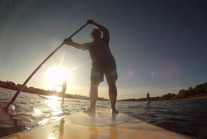 Standup-paddling