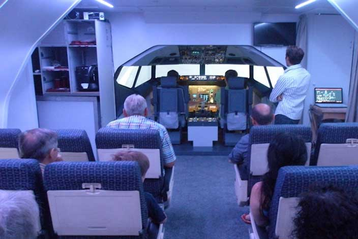 Flugsimulator Airlebnisse