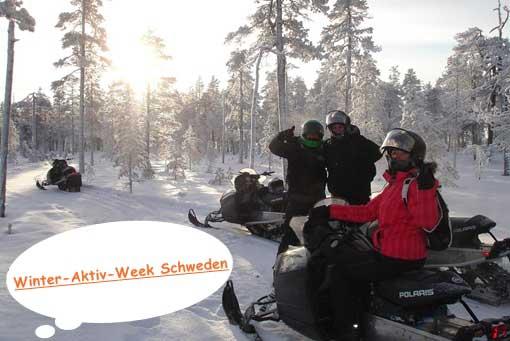 Winter Aktiv Week Schweden