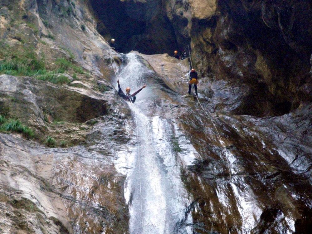 Canyoning Vaja dell´Orsa