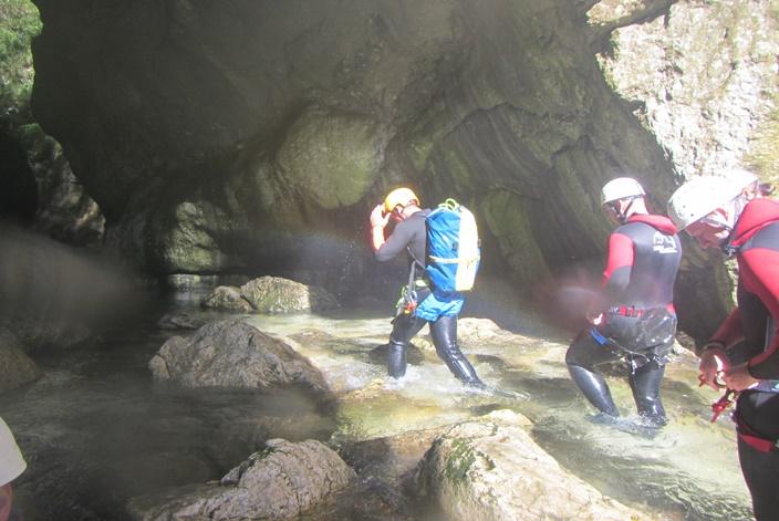 Canyoning Torrente Aviana