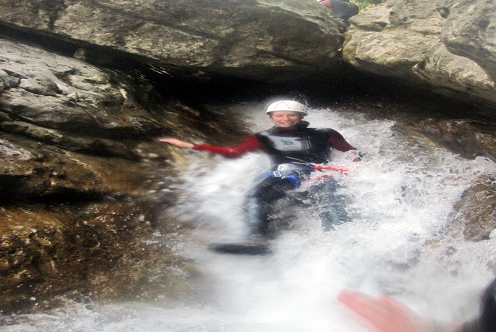 Canyoning Vione 1 + 2