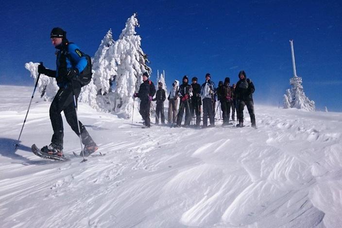 Schneeschuh Tagestour Schwarzwald