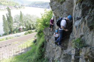 Klettersteig Rhein : Klettersteig boppard abenteuer und aktivurlaub