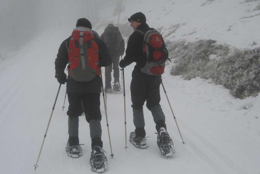 Schneeschuh Touren